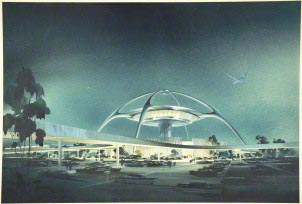 LAX Theme Building, 1958